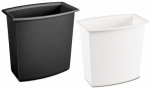 Sterilite 10220012 2 Gallon Rectangular Vanity Wastebasket