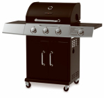 Chant Kitchen Equipment BG2723B 3-Burner Gas Grill + Side Burner
