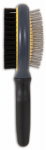 Petmate 65029 Gripsoft Pet Brush, Double-Sided