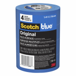 3M 2090-36EVP Blue Painters Tape, 1.41-In. x 60-Yd., 4-Pk.
