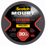 3M 414-LONG/DC Extreme Mounting Tape, 1-In. x 33.3-Ft.