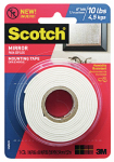 3M 515P Mirror Mounting Tape, 1 x 60-In.