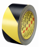 3M 766 DC Safety Stripe Tape Black & Yellow