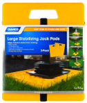 Camco Mfg 44541 Stabilizer Jack Pad, 14 x 11.7-In., 2-Pack