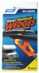 Camco Mfg 45456 Wiper Stand Off Wedges, 2-Pk.