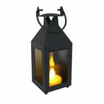 Smart Solar 84037-TL SM BLK Lantern