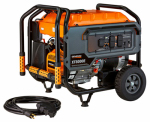 Generac Power Systems 6433 Portable Generator, Electric Start, 8000-Watt