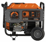 Generac Power Systems 6673 Portable Generator, Rapid Start, 7000-Watt