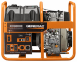 Generac Power Systems 6864 Portable Generator, Diesel Powered