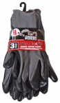 Big Time Products 25539-23 Nitrile Gloves, Large, 3-Pack