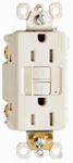 Pass & Seymour 1597NTLTRLACC4 GFCI Receptacle/Night Light, 15A, Almond