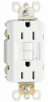 Pass & Seymour 1597WCCD12 GFCI Outlet, 15A, White