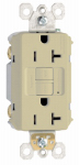 Pass & Seymour 2097ICC10 GFCI Outlet, Heavy Duty, 20A, Ivory