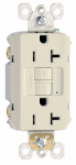 Pass & Seymour 2097LACC10 GFCI Outlet, Heavy Duty, 20A, Almond