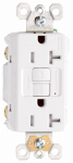 Pass & Seymour 2097TRWCCD12 GFCI Receptacle, Duplex, 20A, White