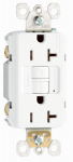Pass & Seymour 2097WCC10 GFCI Outlet, Heavy Duty, 20A, White