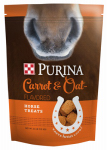 Land O'lakes Purina Feed 3003258-745 Horse Treats, Crunchy Carrot & Oat, 2.5-Lbs.