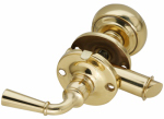 National Mfg/Spectrum Brands Hhi N100-047 Storm Door Latch, Brass