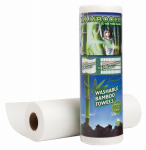 Cm National 4005 Reusable Bamboo Rayon Towels, 20-Ct. Roll