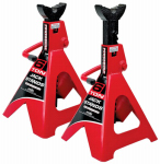 Alltrade Tools 647511 Ratcheting Jack Stands, 6-Ton, Pr.