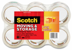 3M 3650-6 Moving & Storage Tape, 1.88-In. x 54.6-Yd., 6-Pk.