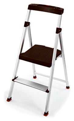 RMA-2 Step Stool, 2-Step, Aluminum - Quantity 2