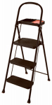 Tricam Industries RMS-3T Project Step Stool With Tray, 3-Step, Steel