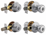 Kwikset 242T 15 CP K2 Combo Lockset, Satin Nickel