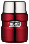 Thermos SK3000CRTRI4 Stainless King Food Jar, Cranberry, 16-oz.