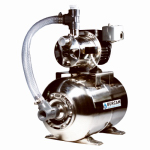 Bur Cam Pumps 506547SS Shallow Well Jet Pump, Stainless Steel, 3/4-HP