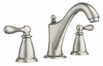 Moen/Faucets WS84440SRN Caldwell Widespread Lavatory Faucet, Brushed Nickel