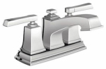 Moen/Faucets WS84800 Boardwalk Collection Lavatory Faucet With Pop-Up, Chrome Finish