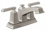 Moen/Faucets WS84800SRN Boardwalk Collection Lavatory Faucet With Pop-Up, Brushed Nickel