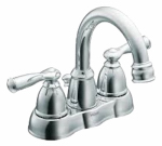 Moen/Faucets WS84913 Banbury Hi-Arc Lavatory Faucet, Chrome Finish