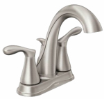 Moen/Faucets WS84948SRN Varese Collection Hi-Arc Lavatory Faucet, Nickel Finish