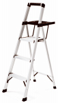Tricam Industries RMA-3XST Step Stool With Tray, 3-Step, Aluminum