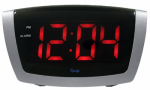 La Crosse Technology 75906 Digital Red LED Alarm Clock, 1.8-In.