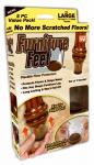 Ontel Products FFL-MC12/4 Furniture Feet, Large