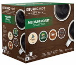 Keurig Green Mountain 118930 Medium Roast Variety Pack, 48-Ct.