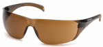 Pyramex Safety Products CH118S Safety Glasses, Sandstone Bronze Lens