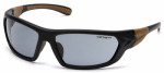 Pyramex Safety Products CHB220D Carbondale Safety Glasses, Gray Lens/Black & Tan Frame