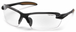 Pyramex Safety Products CHB310D Spokane Safety Glasses, Clear Lens/Black Frame