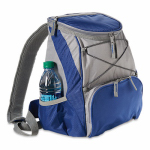Picnic Time 633-00-138 PTX Backpack Cooler, Navy & Gray, 23-Can