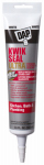 Dap 7079818914 Kwik Seal Ultra Kitchen & Bath Sealant, White, 5.5-oz.