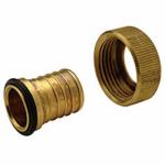 Zurn Pex QQSFC45GX 1x3/4 Brass Pex Adaptor