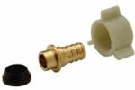 Zurn Pex QQSFC55GX 1x1 Brass Pex Adaptor