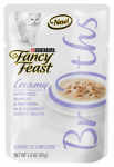 American Distribution & Mfg 96371 Broths Creamy Cat Food, 1.4-oz.