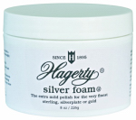 Hagerty W J & Son 11070 Silver Foam, 8-oz.