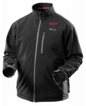 Milwaukee Electric or Electrical Tool 2395-L M12 Heated Jacket, Black, Large