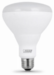 Feit Electric BR30/10KLED/3 LED Flood Light Bulbs, Soft White, Indoor Use, 13-Watts, 3-Pk.